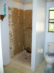 Retile shower pictures and photos for How to retile a bathroom floor