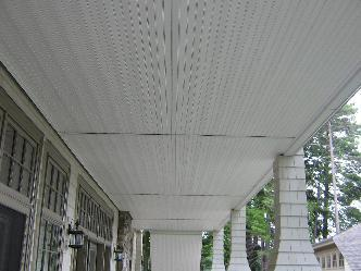 Wolfeboro Vinyl Soffit Under Porch Pictures And Photos