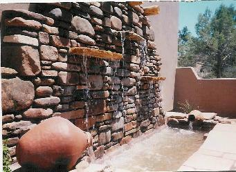 Tumbled Rock Wall Amp Water Feature Schemes Pictures And Photos