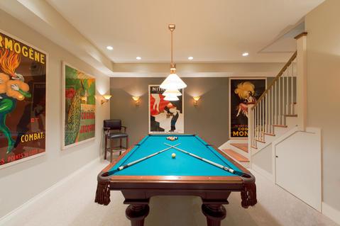 Contemporary basement ideas designs pictures for Exterior design lodi ca
