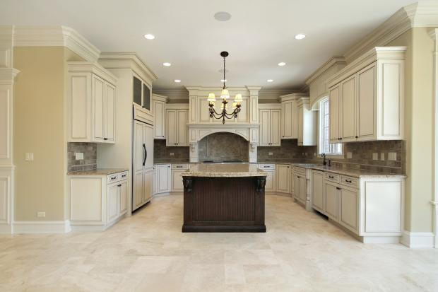French kitchen in cascade black cabinet hardware grey for Bentwood kitchen cabinets