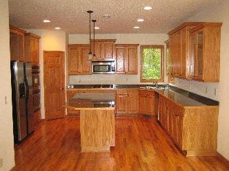 Kitchen Remodel With Oak Cabinetry Pictures And Photos