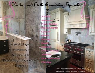 Tropical Elegance Remodeling Restoration And Plumbing