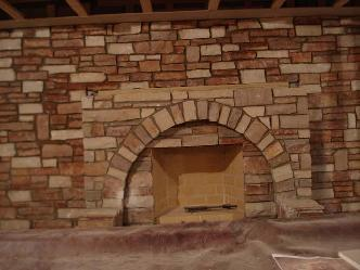 Stone Fireplace In Basement Pictures And Photos