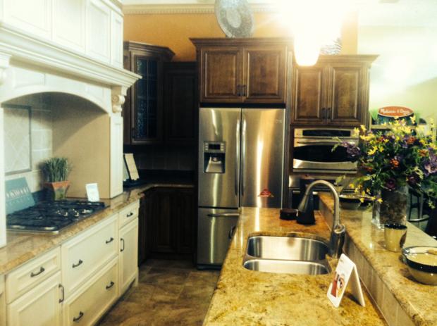 Traditional Kitchen In Lenexa Under Mount Sink Tile Backsplash By Direct Buy Of Greater