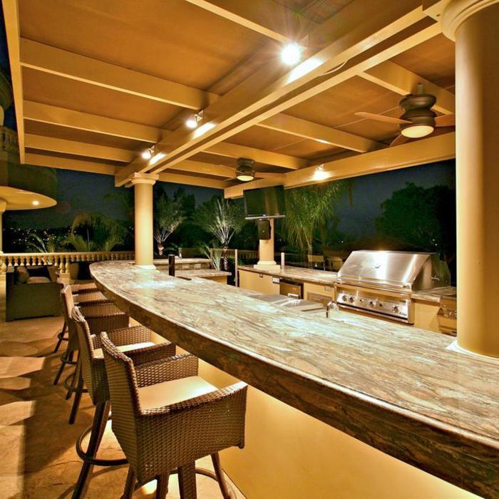 7 Outdoor Kitchen Ideas And Tips Home, Pendant Lighting For Outdoor Kitchen
