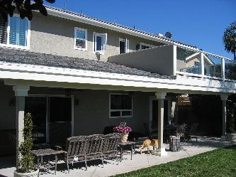 Balcony Patio Cover Combo Pictures And Photos