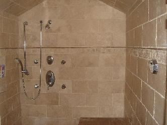 Marble And Tile Showers Pictures And Photos