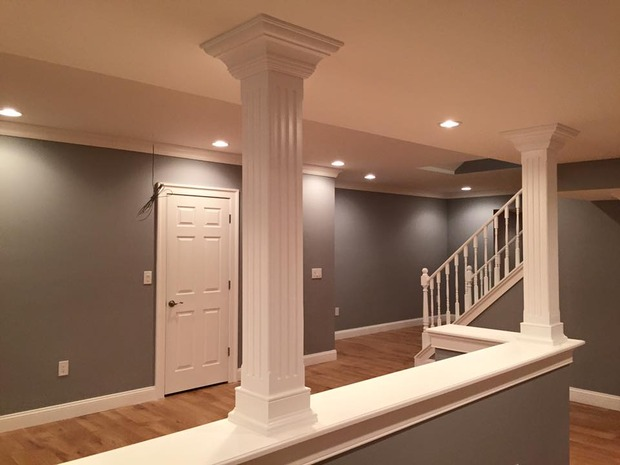 basements beyond transitional basement in towaco ceilings for 389