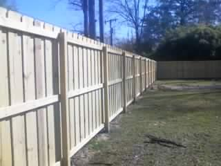 Overlapping Seven Foot Privacy Fence Pictures And Photos