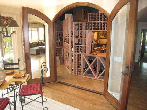 Traditional Wine Cellar with large storage capacity