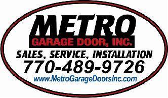 Metro Garage Door Inc  Winston GA 30187  HomeAdvisor