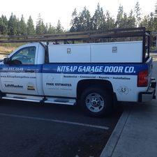 Our trucks & Kitsap Garage Door Company | BREMERTON WA 98312 - HomeAdvisor