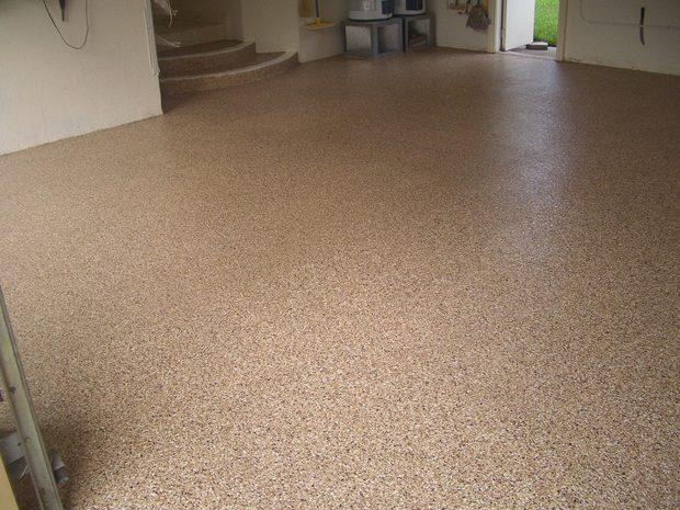 Traditional Garage In Pompano Beach Epoxied Floor Epoxy