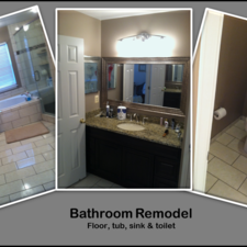 Mr handyman of northern virginia arlington to haymarket manassas va 20110 homeadvisor Bathroom remodeling arlington va
