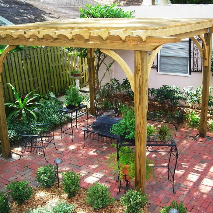 Brilliant And Inexpensive Patio Ideas For Small Yards HuffPost - Patio garden ideas on a budget