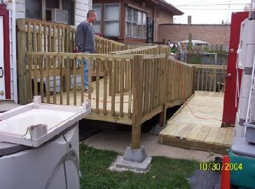 Deck And Wheelchair Ramp Pictures And Photos