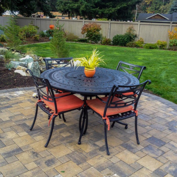 how to make a brick paver patio