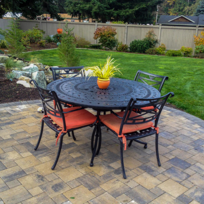 2017 brick paver costs | price to install brick pavers & patios - Brick Stone Patio Designs