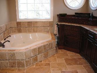 Seven Oaks Master Bath Pictures and Photos