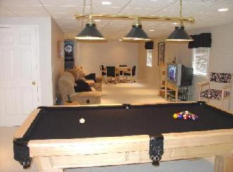 Recessed lights and pool table lights pictures and photos greentooth Choice Image