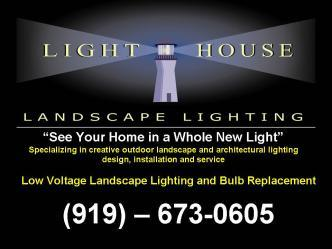 Lighthouse Landscape Lighting of Raleigh  sc 1 st  HomeAdvisor.com & Lighthouse Landscape Lighting of Raleigh | Raleigh NC 27511 ... azcodes.com