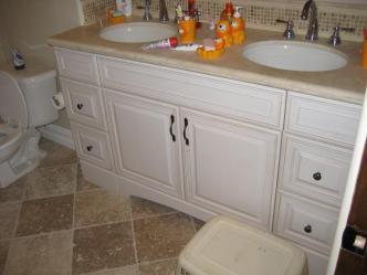 cabinet refacing bathroom remodel countertops pictures and photos