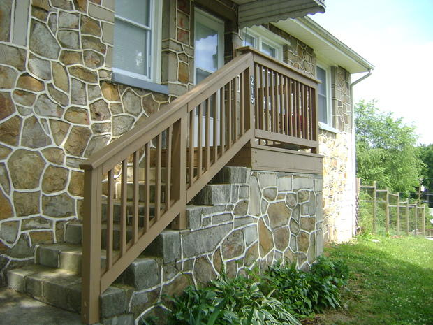 Home Exterior In Roanoke Raised Entry Single Hung Window By High Peak Remodeling