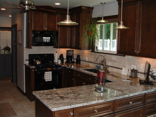 Traditional Kitchen In Columbiana Kitchen Remodel Black