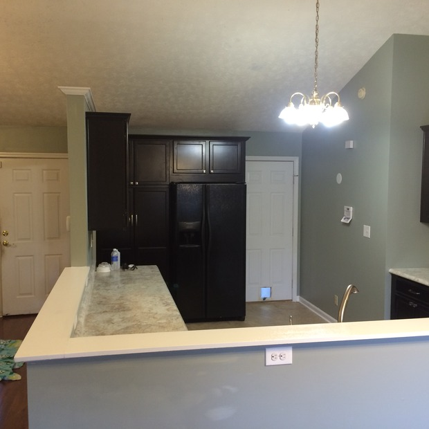 Modern Kitchen In Knoxville   Brushed Nickel Faucet, Granite Countertop    By Universal Construction Of TN, LLC