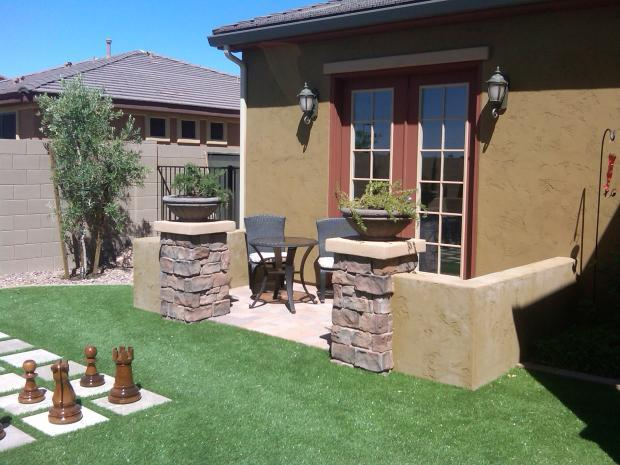 Transitional Patio In Phoenix Small Green By Outdoor
