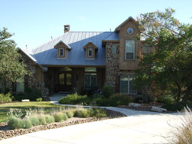 Tuscan Home Exterior In Boerne Dormer Windows Concrete