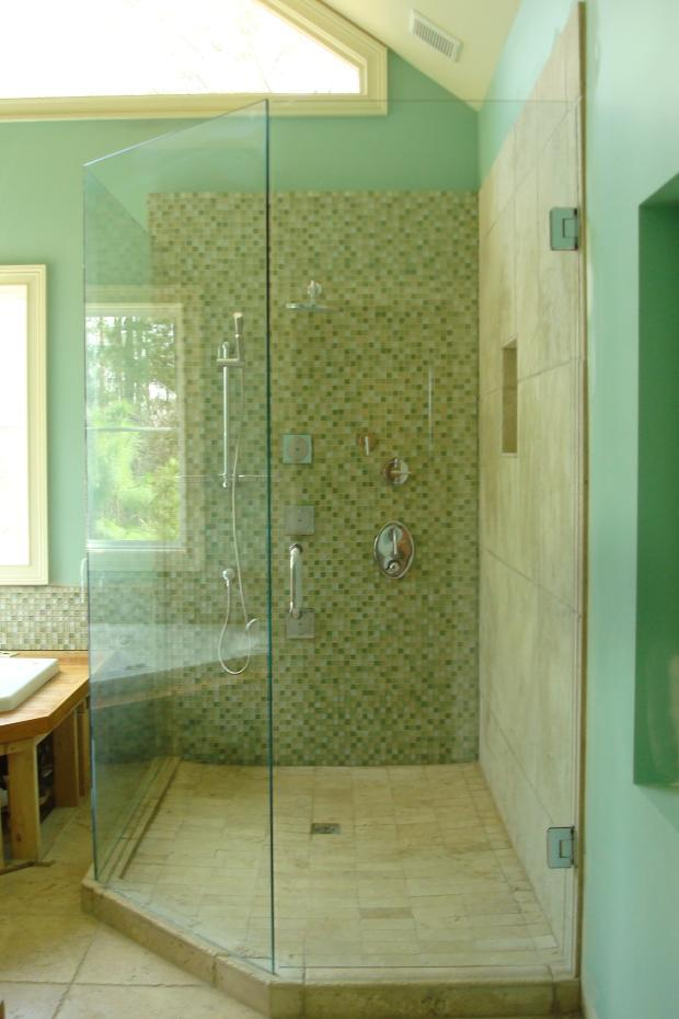 Transitional Bathroom In Fayetteville Paint Light Tan
