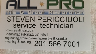 All Pro Tile And Grout Restoration Llc Rutherford Nj