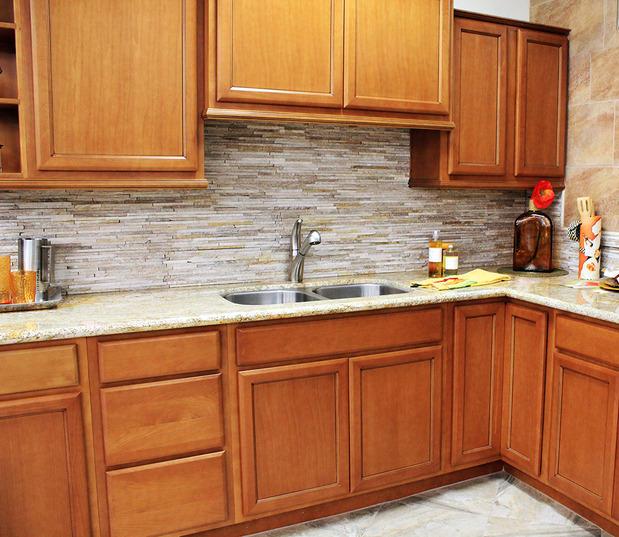 Contemporary kitchen in san diego granite counter top - Kitchen sinks san diego ...
