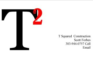 T Squared Construction Parker Co 80138 Homeadvisor