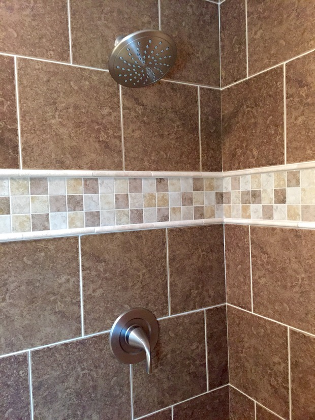 Traditional Bathroom In Lexington Walk In Shower Wall Mount Shower Head By Mulberry