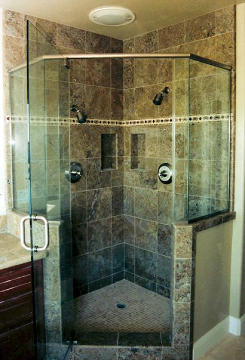 how to frame the walk in shower ideas in motion