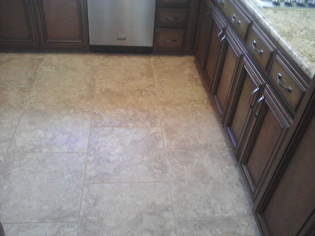 Countertop Microwave Beige : ... steel appliances, beige granite countertop by J W Tile and Stone