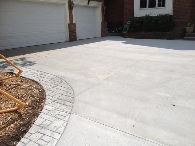 Traditional Driveway In Buffalo Cement Paved Driveway