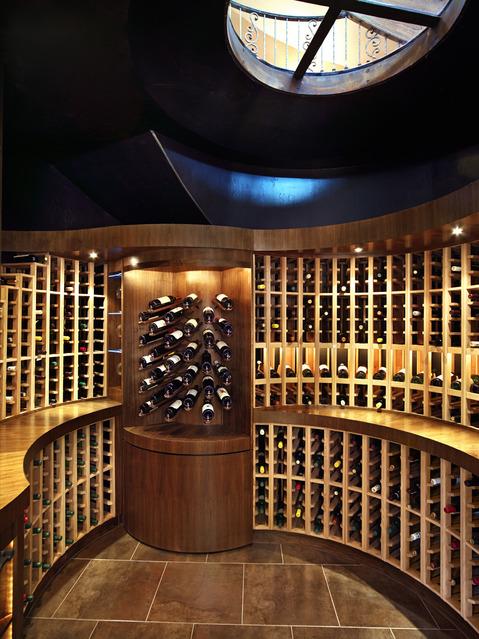 Contemporary Wine Cellar Ideas Designs Pictures