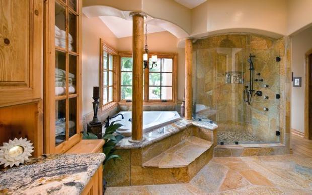 Buy El 20043 Bathroom Ceiling Light: Southwestern Bathroom In El Cajon