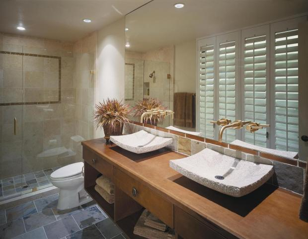 Contemporary Bathroom In Puyallup Unique Elegant By