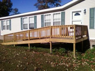 Decks And Handicap Ramps Pictures And Photos