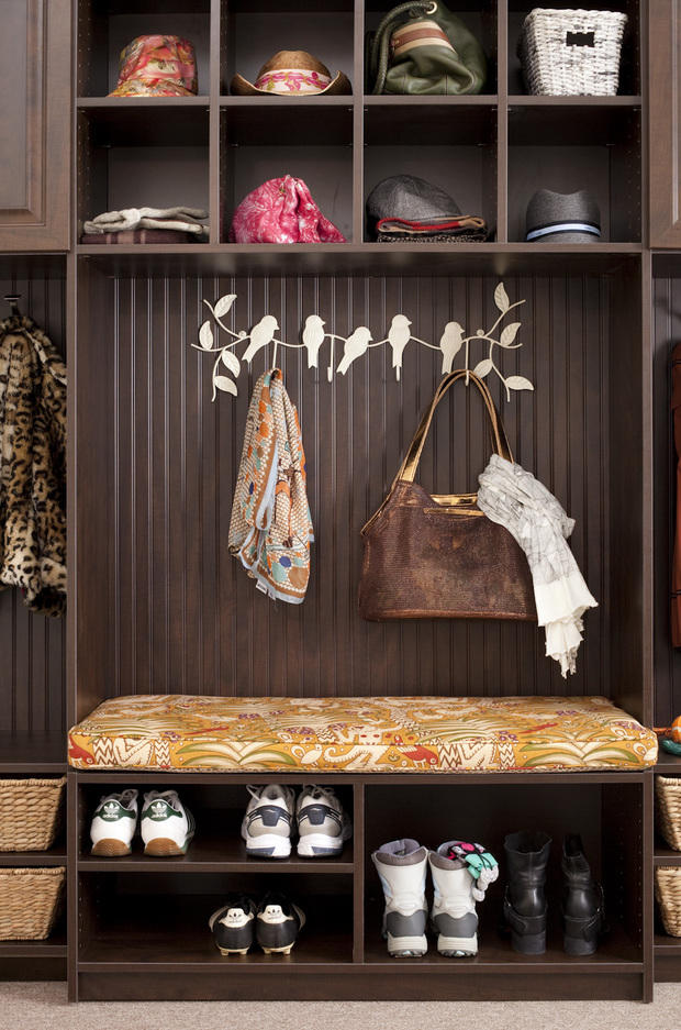 Eclectic Mud Room In Montgomeryville   Hat Storage, Bench Seat | By The  Closet Works, Inc.