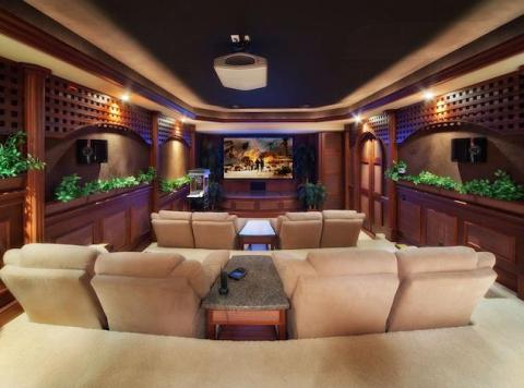 Home Theater Ideas, Designs & Pictures | Home Theater Decorating