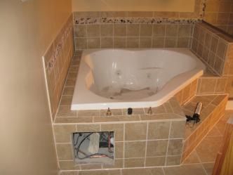Shower And Tub Combo With Ceramic Floor Pictures And Photos