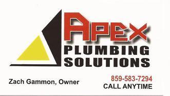 Apex Plumbing Solutions Inc