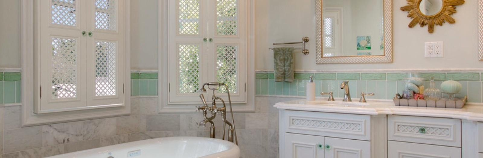 Shabby Chic Bathroom with shabby chic style master bathroom
