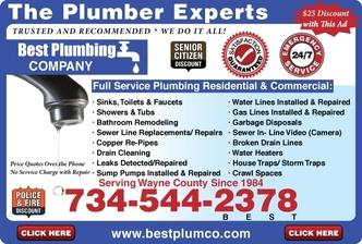 Best Plumbing Dearborn Heights Mi 48125 Homeadvisor